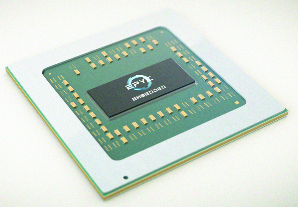 AMD launches EPYC Embedded 3000 and Ryzen Embedded V1000 SoCs