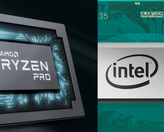 Intel, AMD Add New Mobile Pro Processors